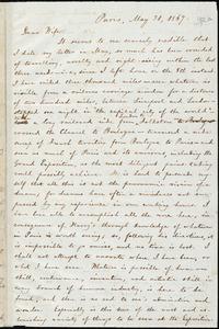 Letter from William Lloyd Garrison, Paris, [France], to Helen Eliza Garrison, May 31, 1867