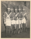 Publicity photograph for the Federal Theatre Project stage production Macbeth (soldiers)