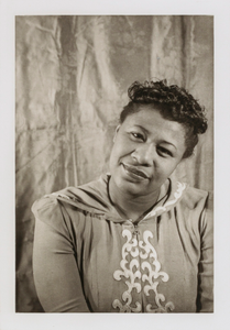 Ella Fitzgerald, from the portfolio 'O, Write My Name': American Portraits, Harlem Heroes