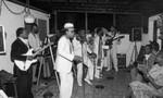 Frankie and Doug Bell party band performing, Los Angeles, 1986
