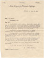 Letter from H. H. Snell, president of the Men's League for Woman's Suffrage in Birmingham, Alabama, to Congressman W. W. Morris in the Alabama House of Representatives in Montgomery.