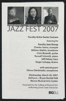 Jazz Fest 2007 ft. Faculty Jazz Group