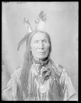 Dakota Rosebud man, Chief Yellow Hair, U. S. Indian School, St Louis, Missouri 1904
