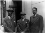 [Roy Wilkins, Walter White, and Thurgood Marshall, all posed half-length, standing]