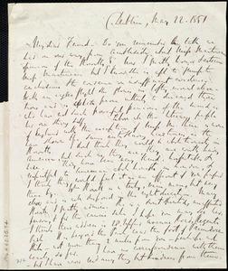 Letter from Richard Davis Webb, Dublin, [Ireland], to Maria Weston Chapman, May 22, 1851
