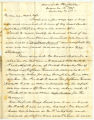 Correspondence from Joseph Gerald Branch to Mary Jones (Polk) Branch, December 12, 1863