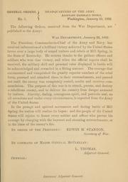 General orders. No. 5