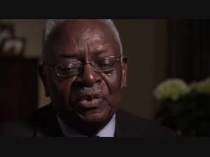 American Experience; Interview with Moses Newson, 1 of 3