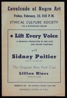 Leaflet. Cavalcade of Negro Art