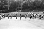Women runners approaching the finish line, Los Angeles, 1982