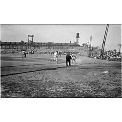 Baseball game, possibly the Baltimore Elite Giants playing at Greenlee Field