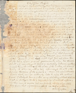 Letter from Arnold Buffum to William Lloyd Garrison, 1835 Jan[uar]y 28