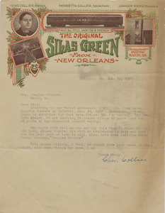 Letter: Columbus, Georgia to Macon, Georgia, 1928 Mar. 19