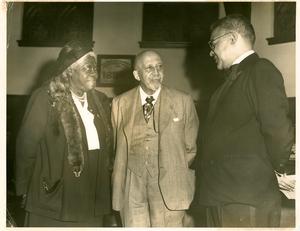 W. E. B. Du Bois, Mary McLeod Bethune, and Horace Mann Bond