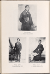 Portrait of three Chinese students at Howard University