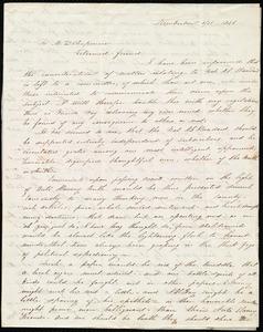 Letter from Abby Kimber, Kimberton, [Penn.], to Maria Weston Chapman, 5/21 1846