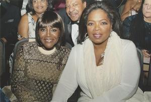Cicely Tyson and Oprah Winfrey