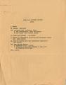North East Concerned Citizens, agendas, ca. 1979