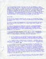 Letter from students regarding a fast begun on Ash Wednesday, 1968