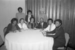 Crenshaw La Tijera Business Women's Association event group portrait, Los Angeles, 1987