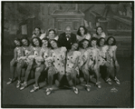 Eubie Blake and the chorus of the 1933 revival of Shuffle Along