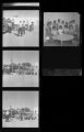 Set of negatives by Clinton Wright including Madison School, Mother's club, and kindergarten class with a fire engine, 1967