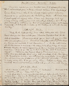 Extracts from correspondence between Samuel Joseph May and John Pierpont, from Samuel May