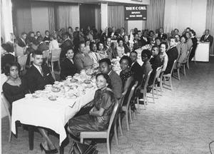 Kansas City Call's banquet dinner
