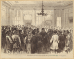 Louisiana : The Presidential Election : Colored Citizens Describing Their Wrongs To The Northern Commissioners In The St. Charles Hotel, New Orleans