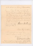 1824 Governor's Message About State of Georgia's Proposed Amendment