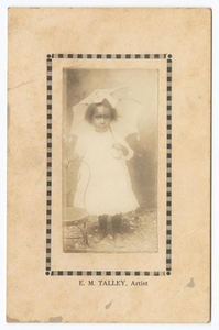 Unknown Young African American Girl