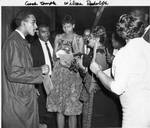 Wilma Rudolph and Coach Edward Temple