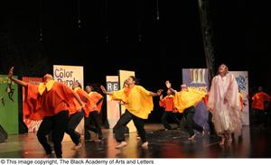 Dancers Performing on Stage Hip Hop Broadway: The Musical