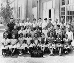 First grade class portrait