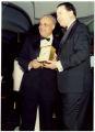 Award presentation with Benjamin Hooks