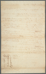 Thumbnail for Documents pertaining to a court case of Moses Night (plaintiff) versus Peter Bainbridge (defendent), 1794-1795