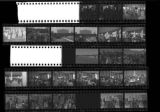 Set of negatives by Clinton Wright of the Welfare Rights march on the Strip, 1971