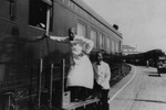 Waiters on the Southern Pacific