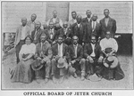 Official Board of Jeter Church