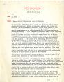 Raymond B. Witt memorandum, 1960 December 27