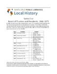 Santa Cruz Board of Trustees and Presidents