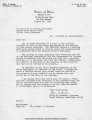 Wiley Branton Letter and Petition for Early Desegregation