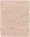 Letter from General Edmund P. Gaines at Fort Mitchell, Alabama, to John Coffee at Fort Strother, Alabama.