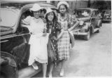 Thelma Jackson and friends