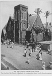 The only stone church in Colon : The ritual is of the Church of England; the congregation almost wholly Jamaica negroes