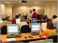 Georgia Highlands College computer lab