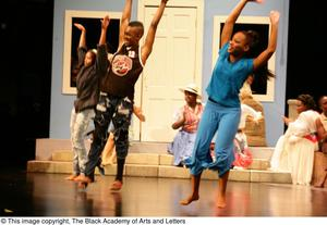 Young Performers Dancing on Stage Hallelujah Gospel: The Musical