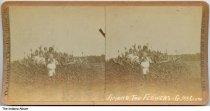 Woman and children at Gain McClure's farm, Claypool, Indiana, ca. 1905