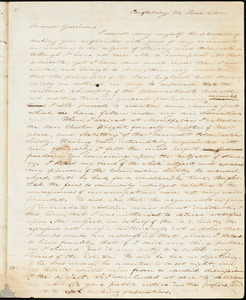 Letter from Oliver Johnson, Craftsbury, V[ermon]t, to William Lloyd Garrison, 1832 June 4
