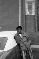 Bedell, Thomas in an Alpha Phi Alpha Jacket